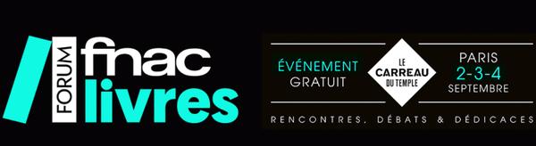 Première édition du Forum Fnac Livres - 2016 + CONCOURS (Terminé)