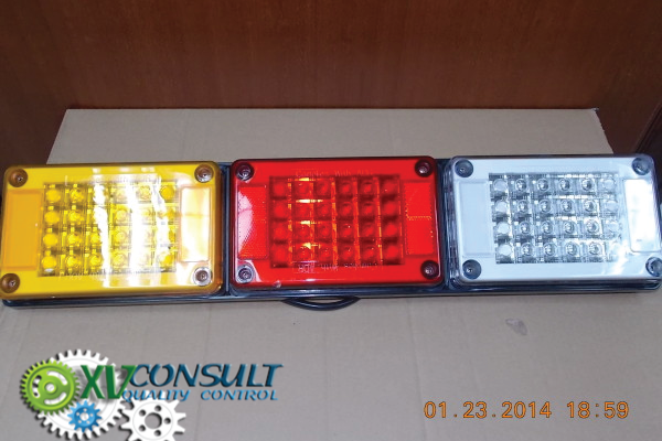 1/ Feux Led Semi Remorques Camions Import Export Chine Afrique - Semi Trailers Led Lighting China - Trucks Lighting China