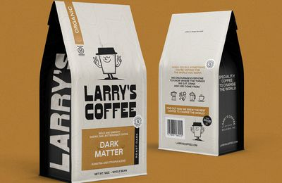 Packaging : Larry's Coffee, un nouvel emballage qui a de l'avenir !
