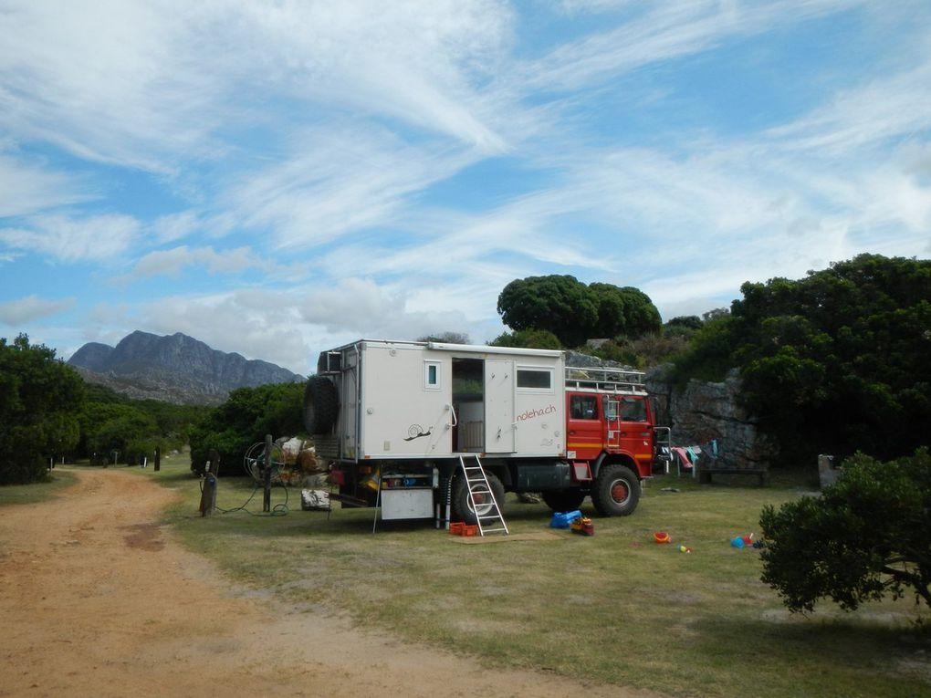 Sur la route de Cape Town