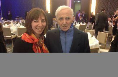 Charles Aznavour: un lecteur VIP!