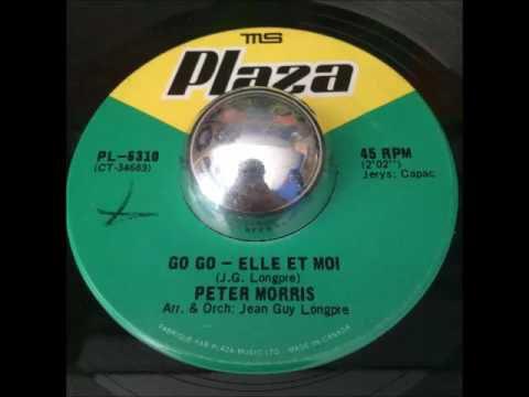 """Peter Morris, un chanteur canadien et saxophoniste de renom avec l'un de ses hits """"go, go elle et moi"""""""