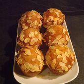 Minis gâteaux au miel et quatre épices comme des muffins