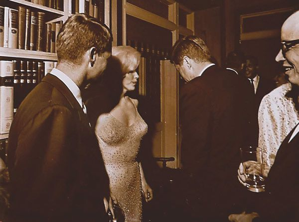 Monroe Marilyn et Jo Di Maggio, Arthur Miller et Kennedy