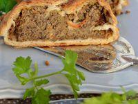 Pâté de lentilles en croûte, Tartelettes crues à la clémentine, Bûche légère au chocolat et au pain d'épices