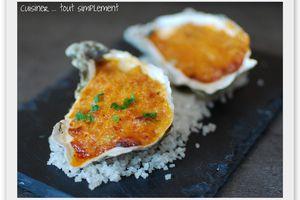 Huîtres gratinées à la Tomate