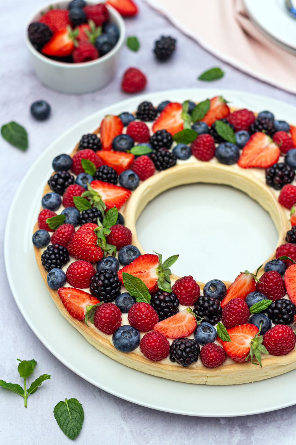 tarte fruit rouge