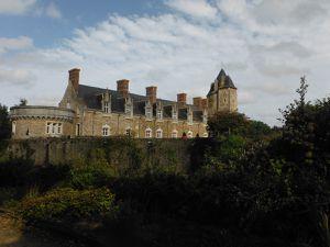 Le château de la Groulais et son histoire.