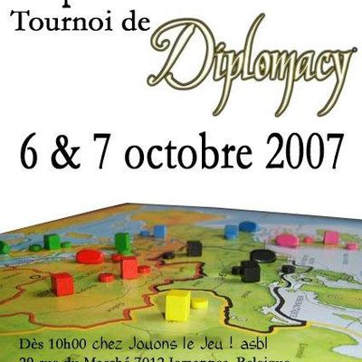 Coupe du dragon 2007 - Tournoi de Diplomacy