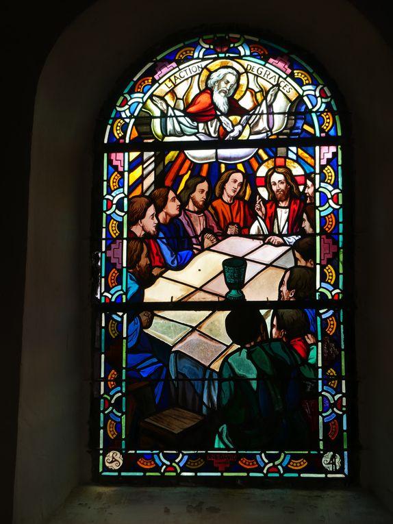 Le Graal a une place toute particulière dans cette église.