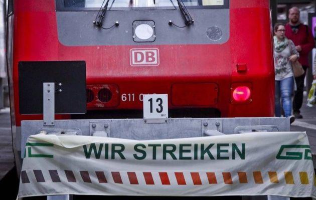 En Allemagne, face à une nouvelle grève des cheminots, le patronat presse le gouvernement à limiter le droit de grève