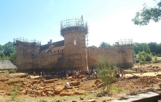 Visite du château fort Guédelon !