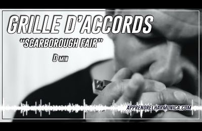 Scarborough Fair - Grille d'accords et play-back en Dm