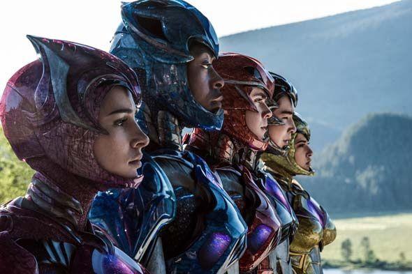Les Power Rangers tombent le masque dans une nouvelle image du film
