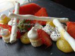 Tentation fraise citron basilic