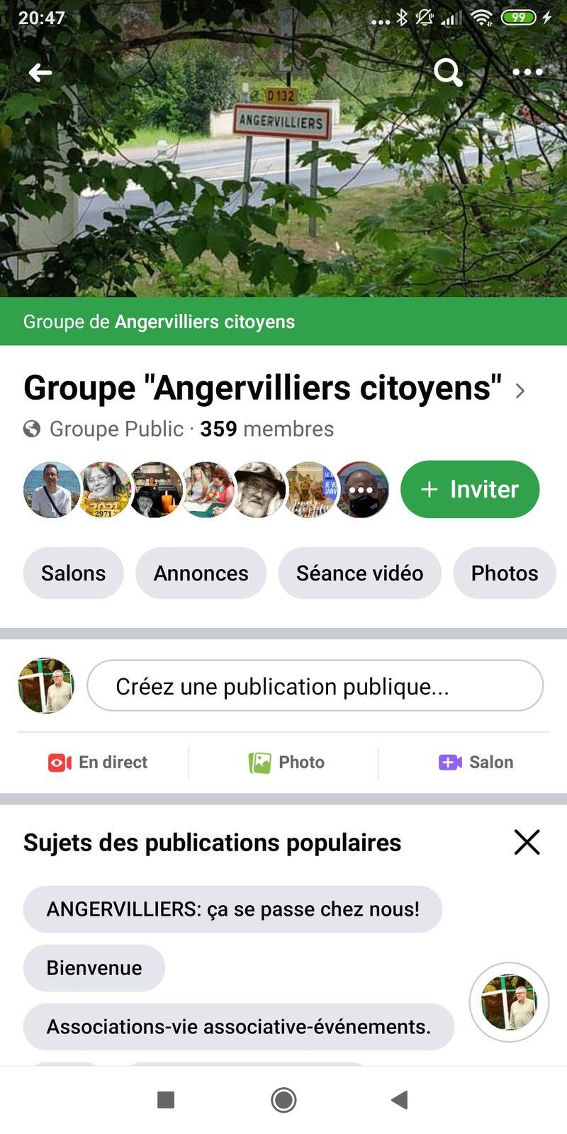 Le Groupe Facebook