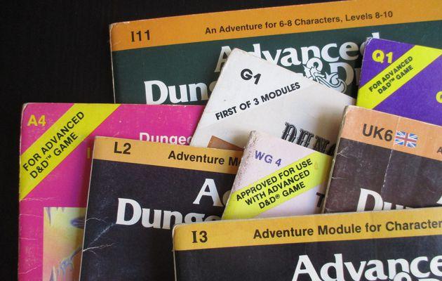 Les codes des modules TSR, 1ère partie: AD&D première édition