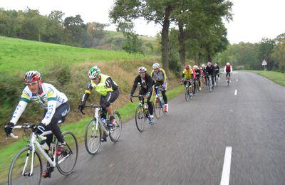 Samedi 23/10 avec l'A.G.S.E. cyclosport