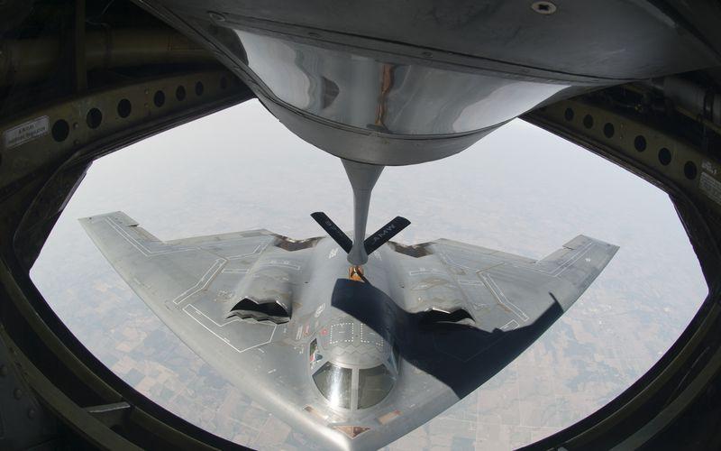 Des bombardiers furtifs B-2A Spirit de l'US Air Force ont effectué un raid aérien en Libye