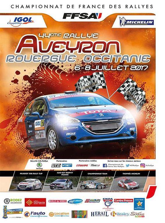 Rallye du Rouergue-Occitanie 2017