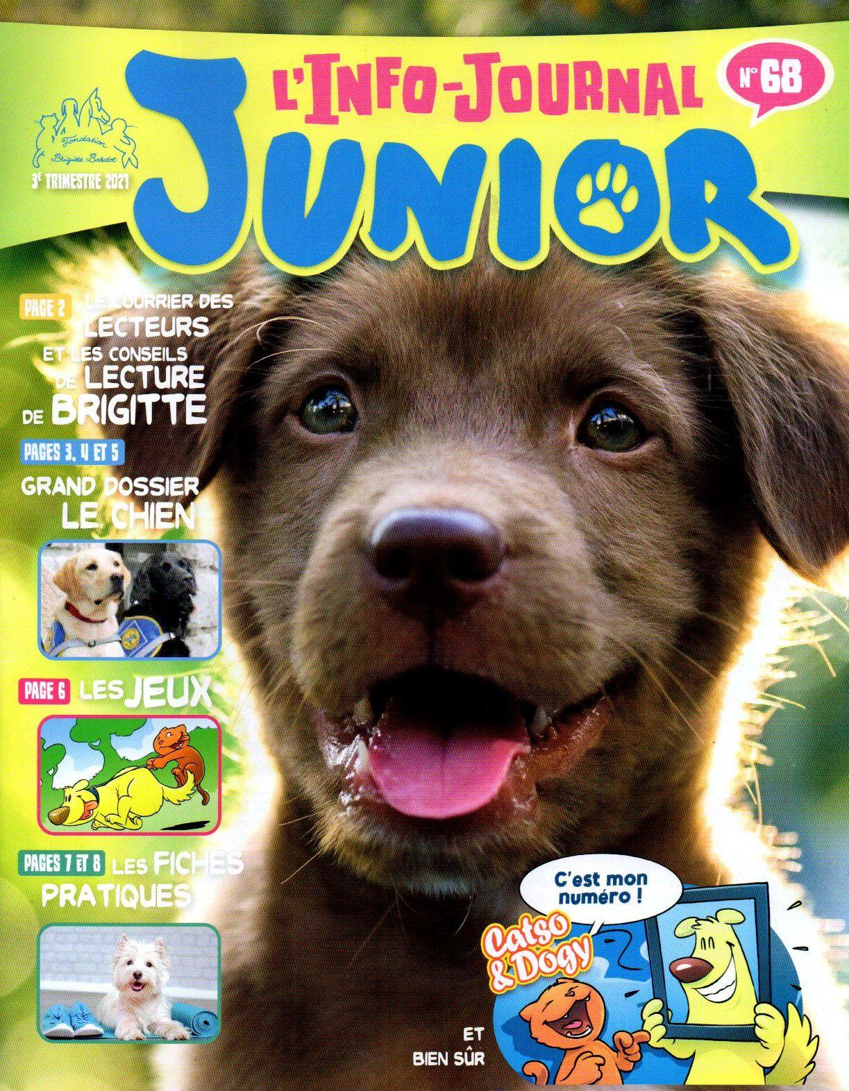 Info journal junior n°68 du 3ème trimestre 2021