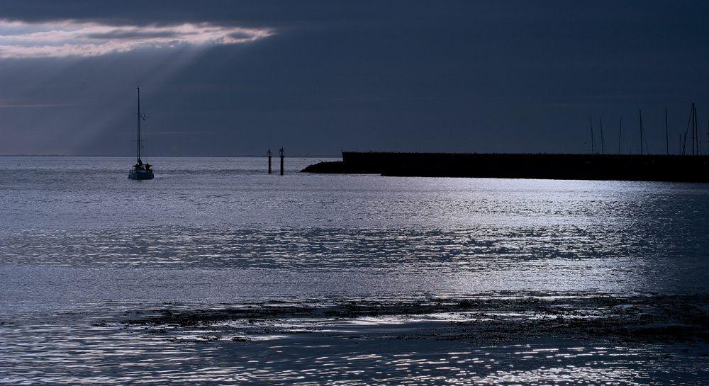 La ville et le port de Pornic station balnéaire de Loire-Atlantique