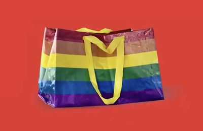DISCOVER THE IKEA's RAINBOW BAG, STORSTOMMA