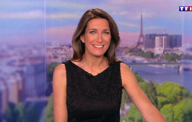 📸29 ANNE-CLAIRE COUDRAY @ACCoudray @TF1 @TF1LeJT pour LE 20H WEEK-END #vuesalatele