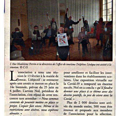 REVUE DE PRESSE - Haute Saintonge 19-02-2021