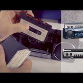 RADIOCASSETTE RETRO 80's et Moderne ! - Mp3 et bluetooth - mini chaine - [PEARLTV.FR]
