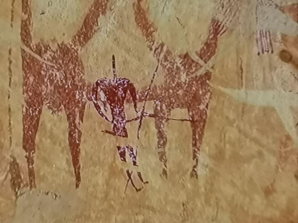 Fresques dans le Hoggar...