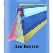 Anchorite -text Galaxy Case for Sale by Michael Bellon