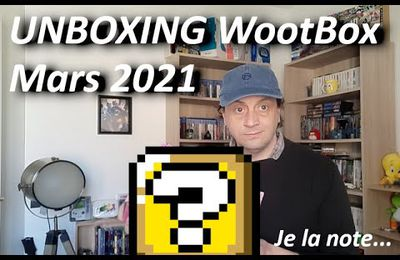 Unboxing Wootbox Mars 2021
