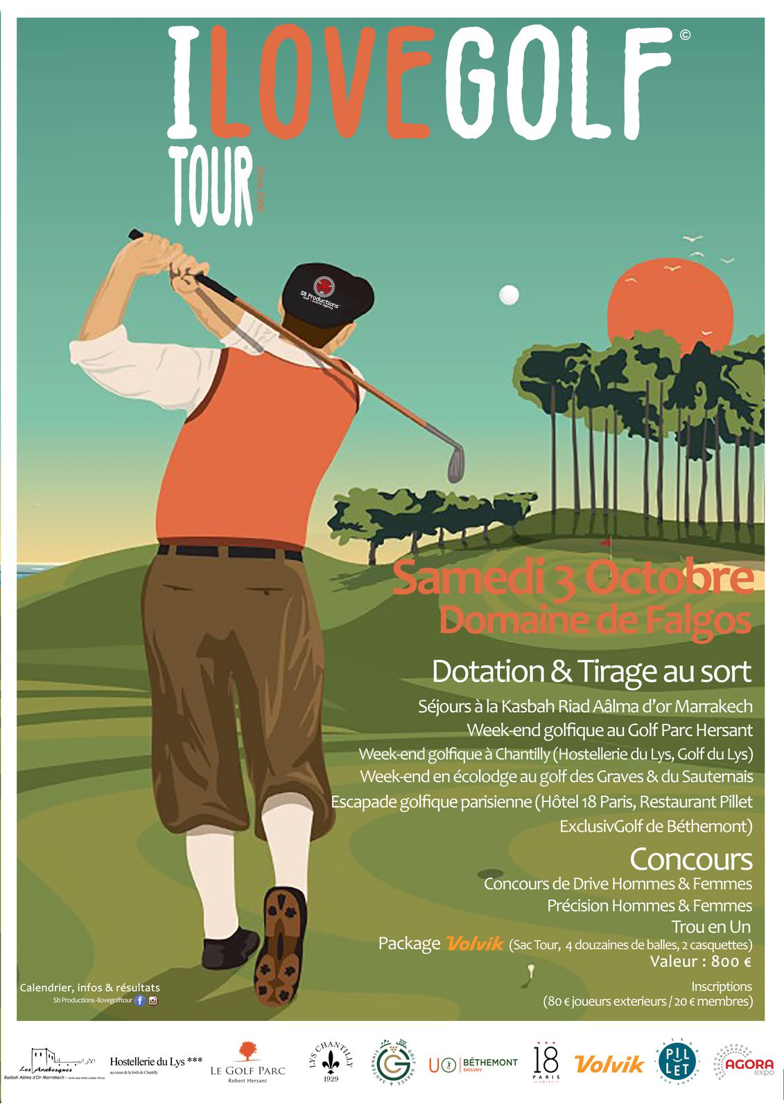 I love Golf Tour le 3 octobre à Falgos