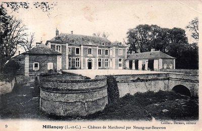 Millançay : Marcheval.
