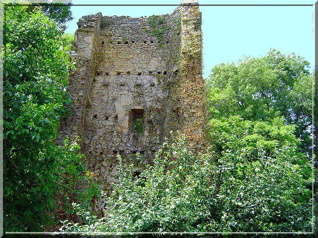Diaporama château de Brunehaut à Girolles