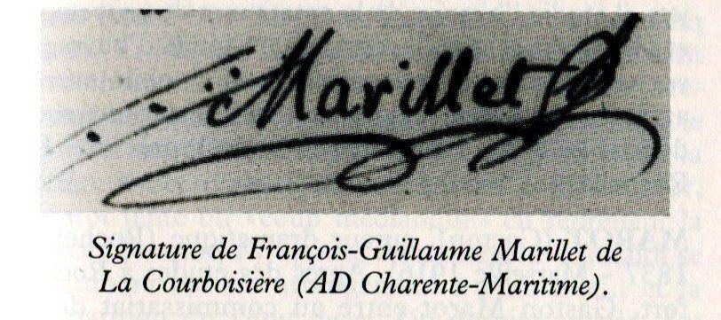 Secrets d'histoire, les deux traits sur la gauche de la signature, avec les quatre points à l'intérieur, sembleraient indiquer que cet avocat mémorialiste devait être dans une loge maçonnique.