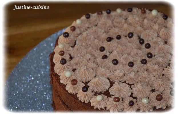 ○•Layer Cake au chocolat•○