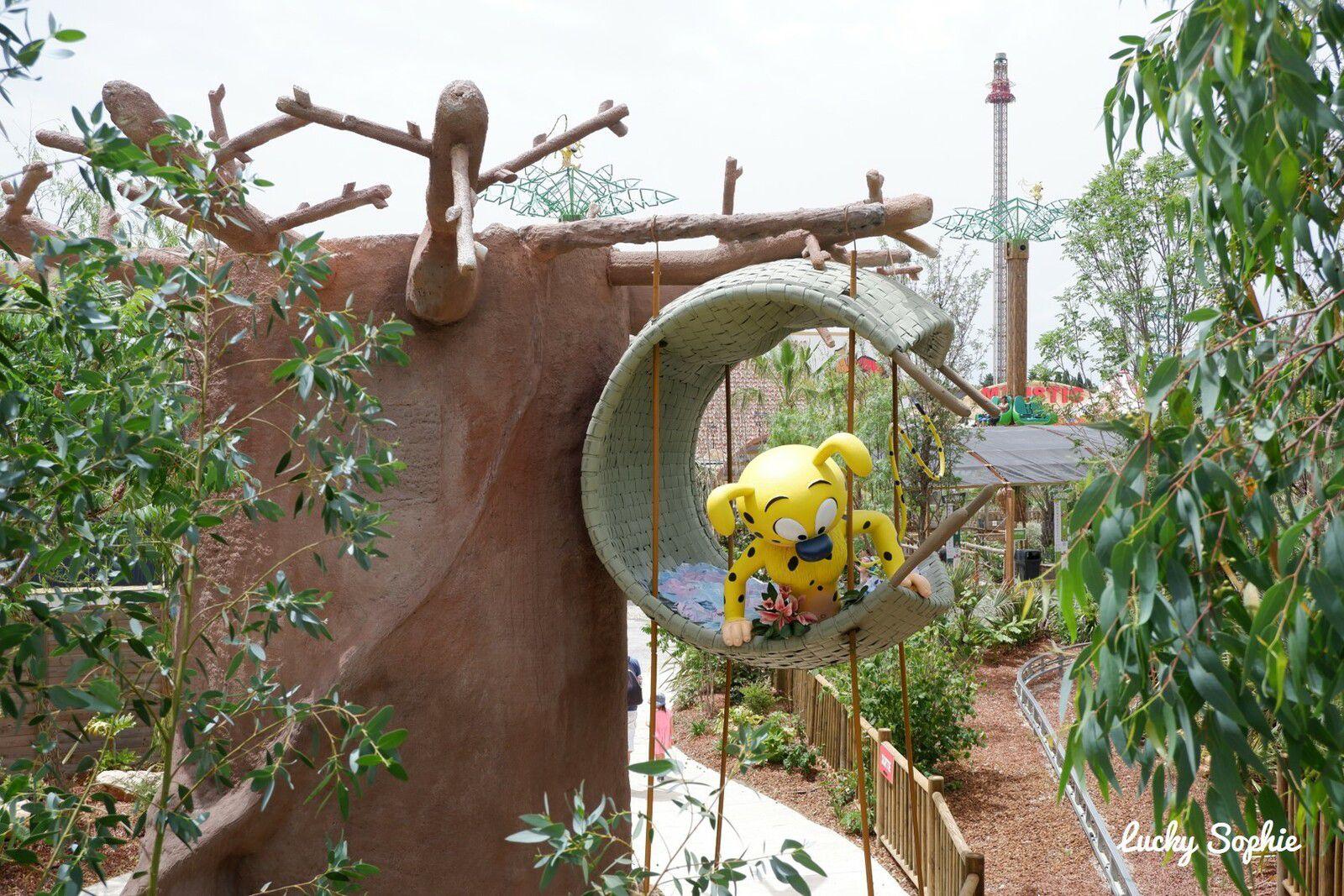 Au parc d'attractions Spirou en famille !