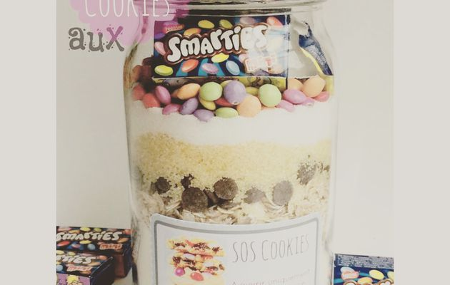 Sos Cookies aux Smarties