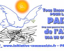 Tous ensemble pour la paix !
