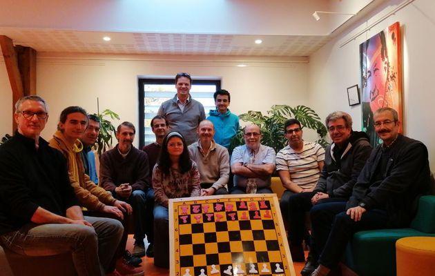 Les joueurs de différentes régions se forment à l'arbitrage à Saint Pantaleon en Corrèze