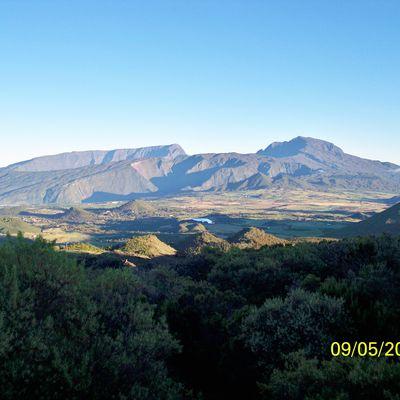 Le volcan : Piton de la Fournaise