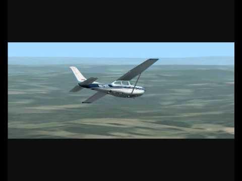 FSX vol dans le sud ouest de la France 0002, un film de Razmot54...