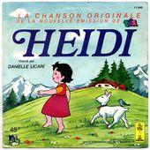 Danielle Licari - Générique de Heidi / Mon beau sapin roi des forêts - tournedix-le-gaulois