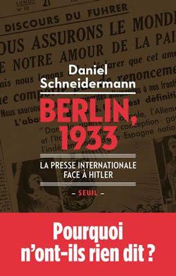 Berlin, 1933 de Daniel Schneidermann