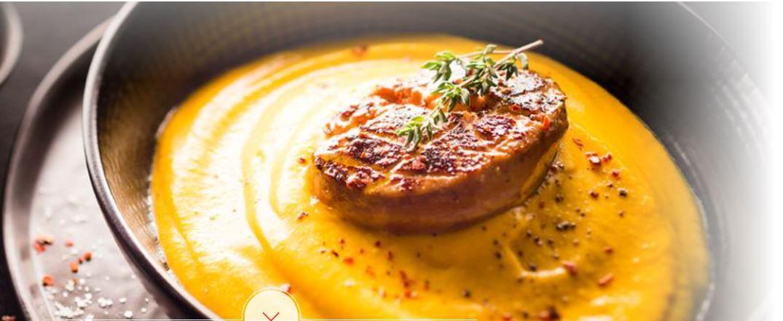 Crème potimarron foie gras cookeo, :Moulinex
