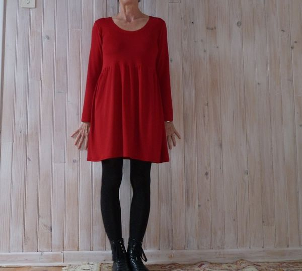 Rouge comme Babydoll