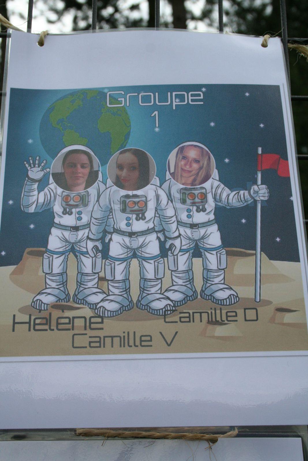 Centre CAMUS Maternelle. Groupe 1. Juillet 2021.