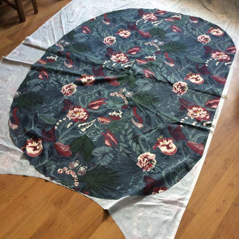 Couture: une housse de gros coussin sur-mesure